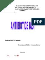 Proiect Antibiotice Iasi