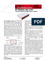 TSI Media 48 230 Inverter Data Sheet Version 02