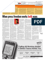 thesun 2009-03-27 page14 when press freedom works both ways
