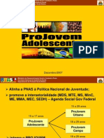 Apresentaçao Projovem