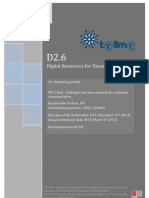 D2.6 Digital Resources for Disease Detection