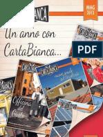 CartaBianca news - Maggio 2013