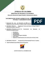 RAS 2000 Titulo A