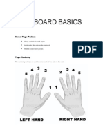Keyboard Basics Handout