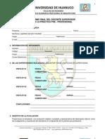 Informe Final de Supervisor de PPP EAP Arquitectura
