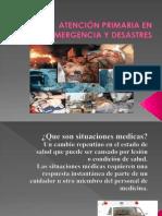 Atencion Primaria de Emergencia y Desastres No 3