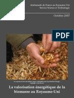 La Valorisation de La Biomasse Au Royaume-Uni