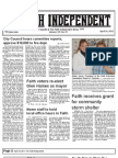 Faith Independent, April 24, 2013
