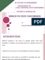 Tech Seminar Ppt