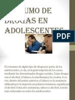 Consumo de Drogas en Adolescentes