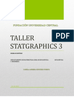 Taller Statgraphics 3
