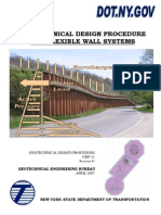 New York DOT Retaining Wall Lateral Earth Pressure Guide