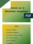 Reflexion sur la révolution énergétique