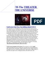 Earth-Theater of the Universe