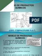 Capacitacion de Manejo de Productos Quimicos