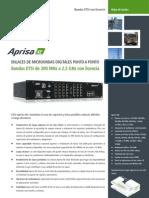 Aprisa XE Datasheet 9.2.1 ETSI 4p Iberian Spanish View