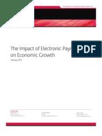 Impact of Electronic Payments on Economic Growth-MoodysAnalytics-Feb2013