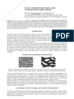 MODELLING OF COMPOSITES PROCESSING USING