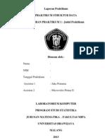 Cover Laporan Struktur Data