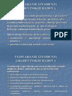 Ugovaranje izvođenja građevinskih radova, skripta sa predavanja