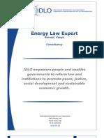 Kenya Energy Law Expert Sought