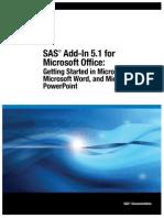 SAS AddIn MS Office