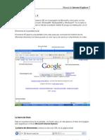 MANUAL Internet Explorer 7