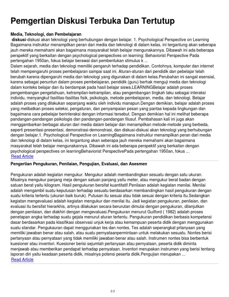 Pengertian Diskusi Terbuka Dan Tertutup.pdf