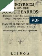 Panegyricos do grande João de Barros