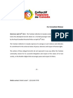 Press Release via Rail Plot April 22nd 2013