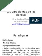 Los Paradigmas de Las Ciencias