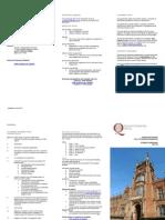Student Leaflet for QUB
