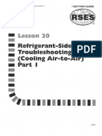 Heat Pump 20 Refrigerant-side Troubleshooting Cooling Air-To-Air Part 1