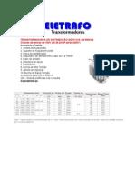 Catalogo Eletrafo Transformador Trifasico