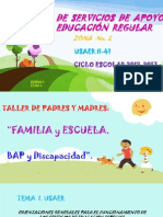 Taller Para Padres y Madres. Bap y Disc. Uii-41. s1t1
