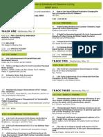 ISSST 2013 Schedule