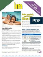 Toronto FUN Guide Spring / Summer 2009 (Swimming, North York District)