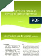 Los Momentos de Verdad en Servicio Al Cliente (1)