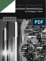 130714248 Vattimo Comunismo Hermeneutico PDF