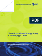 Climate Protection and Energy Supply in Germany 1990 - 2020