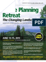 33rd Annual Estate Planning Retreat