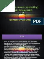 implikasi teori behavioris