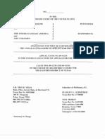 Paroline's Petition for a Writ of Certiorari