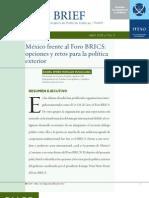 Morales Ruvalcaba, Daniel (2013) Mexico frentel al BRICS