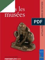 Actualités des Musées de Poitiers 2-2009