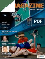 IHMAN 3D Magazine Marzo