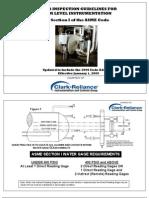 2009 Boiler Code Checklist