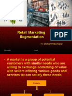 Retail Marketing Segmentation