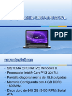 Laptop Satélite L955-SP5301WL