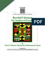 Rawdat l Janaan Miracles of Shehu Uthman Dan Fuduye
